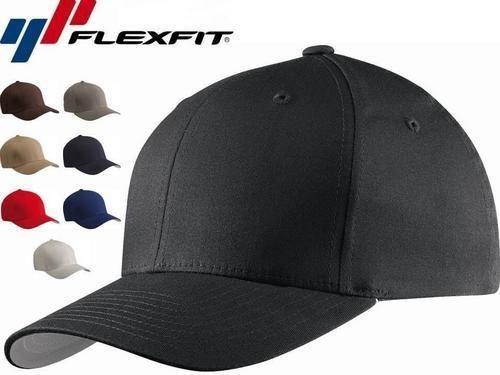 5001 Flexfit V-Flexfit Cotton Twill Fitted Baseball Blank Plain Hat Cap  Flex Fit e203e461a263