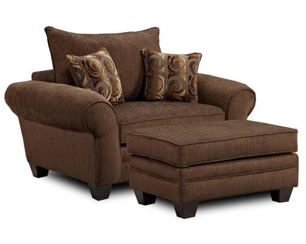 Armchair And Ottoman Slipcover Set Outdoor Dining Chair Cushions Slipcovers Pinterest