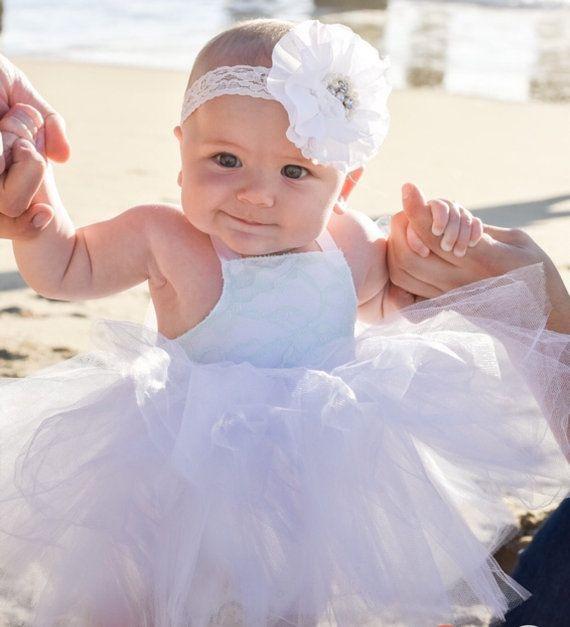 de8e25fd5c Newborn Infant flower girl dress. Lace flower girl dress.