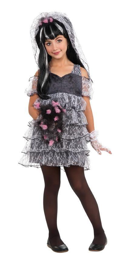 Drama Queen Monster Bride Costume Child