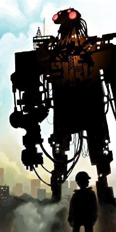 robot rising by dreaz