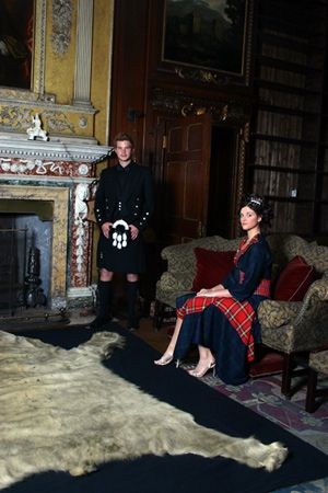 Part of The Scotclans photoshoot at Newhailes c1f1e6eee3b8f