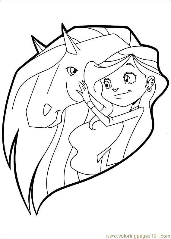 horseland coloring pages - Bing Images | Horseland | Pinterest