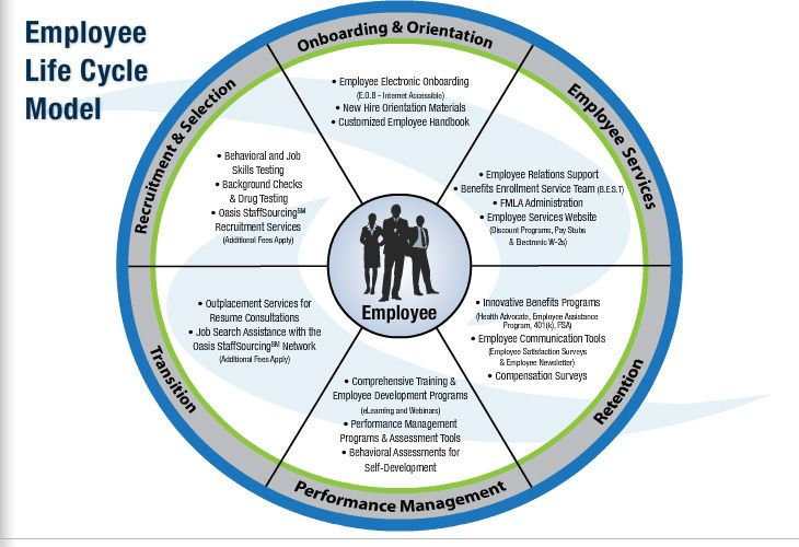 Employment life cycle interesting data for employers