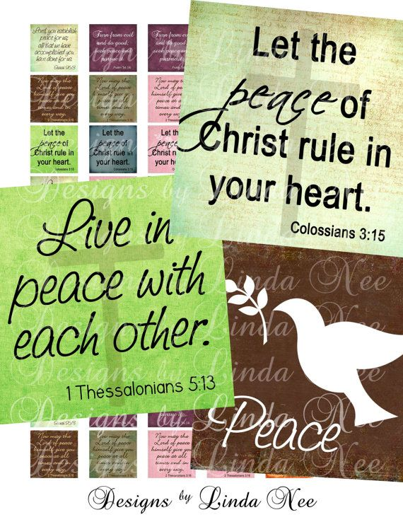 CHRISTian Scripture Fruit of the Spirit - PEACE (.875 x .875 Inches) Digital Collage Sheet Buy 2 Get 1 Sale sticker magnet button via Etsy