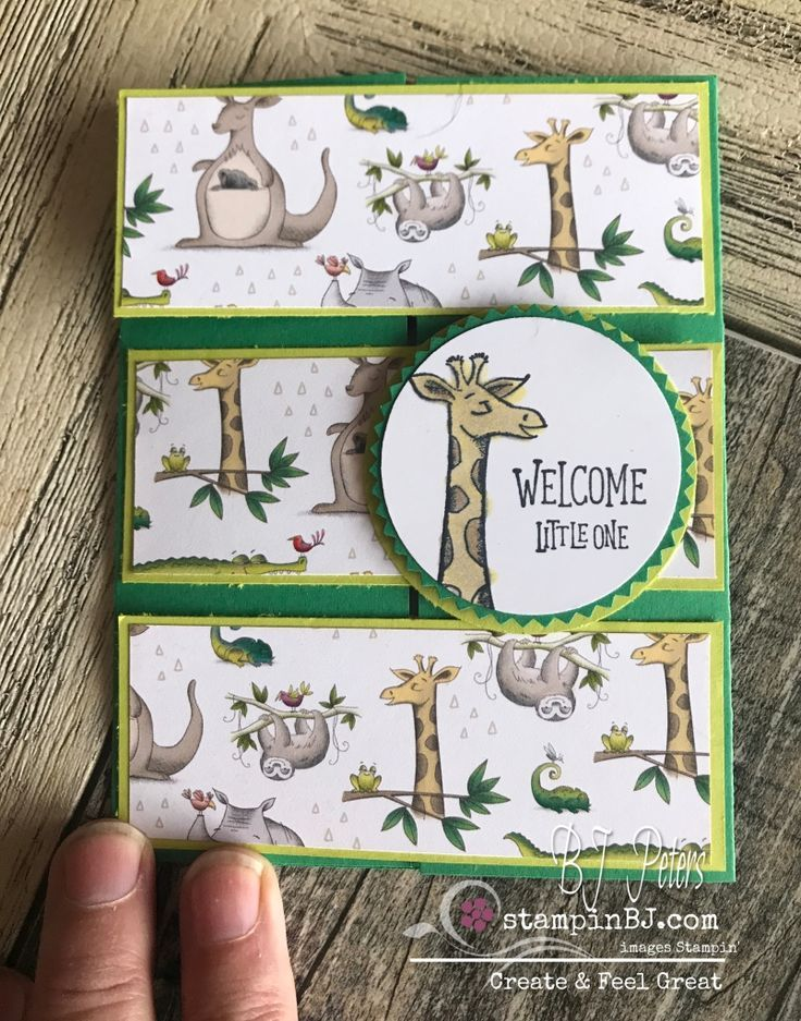 Easy & Fun Special Fold - BJ's Stampin' Spot