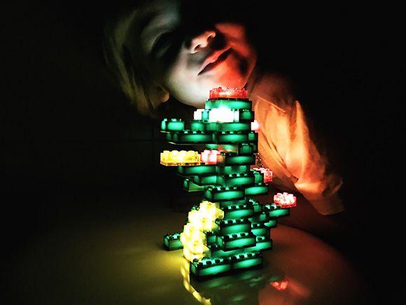 Cadeau tip voor lego fans: lego die licht geeft lego