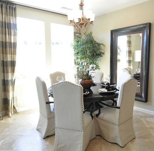 circular dining table and mirror For the Home Pinterest Dining
