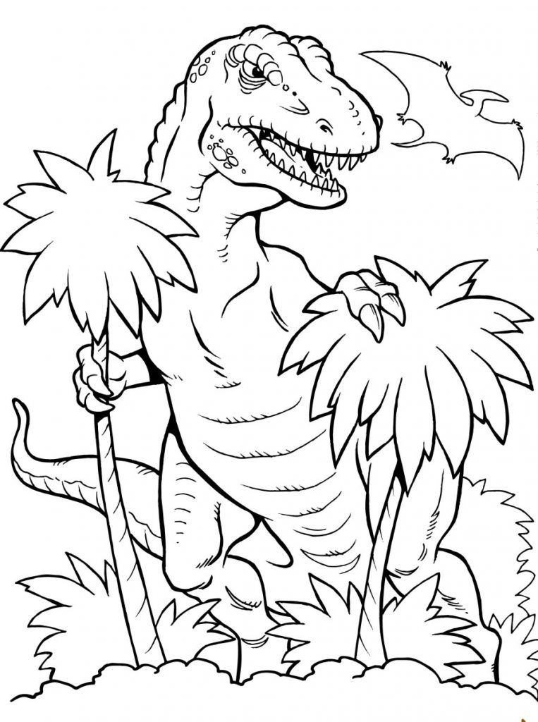T Rex Colouring : colouring, Coloring, Pages, Dinosaur, Sheets,, Animal, Pages,, Spring