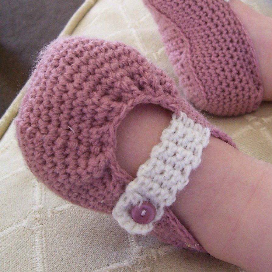 Download Now - CROCHET PATTERN Pretty Pleated Mary Janes - Baby and ...