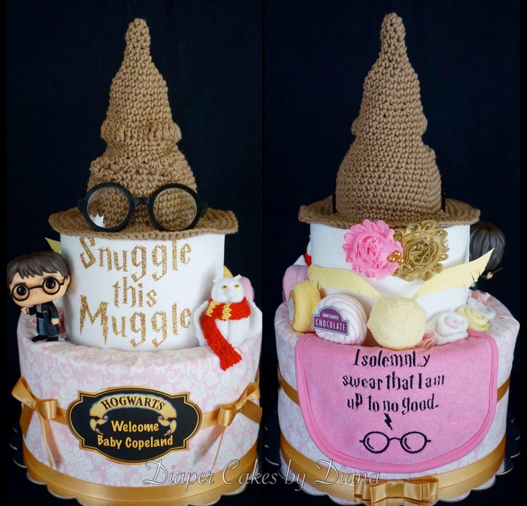 Superb Harry Potter Diaper Cake Www.facebook.com/DiaperCakesbyDiana