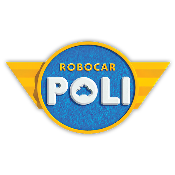 logo robocar 600 600 robocar poli pinterest. Black Bedroom Furniture Sets. Home Design Ideas
