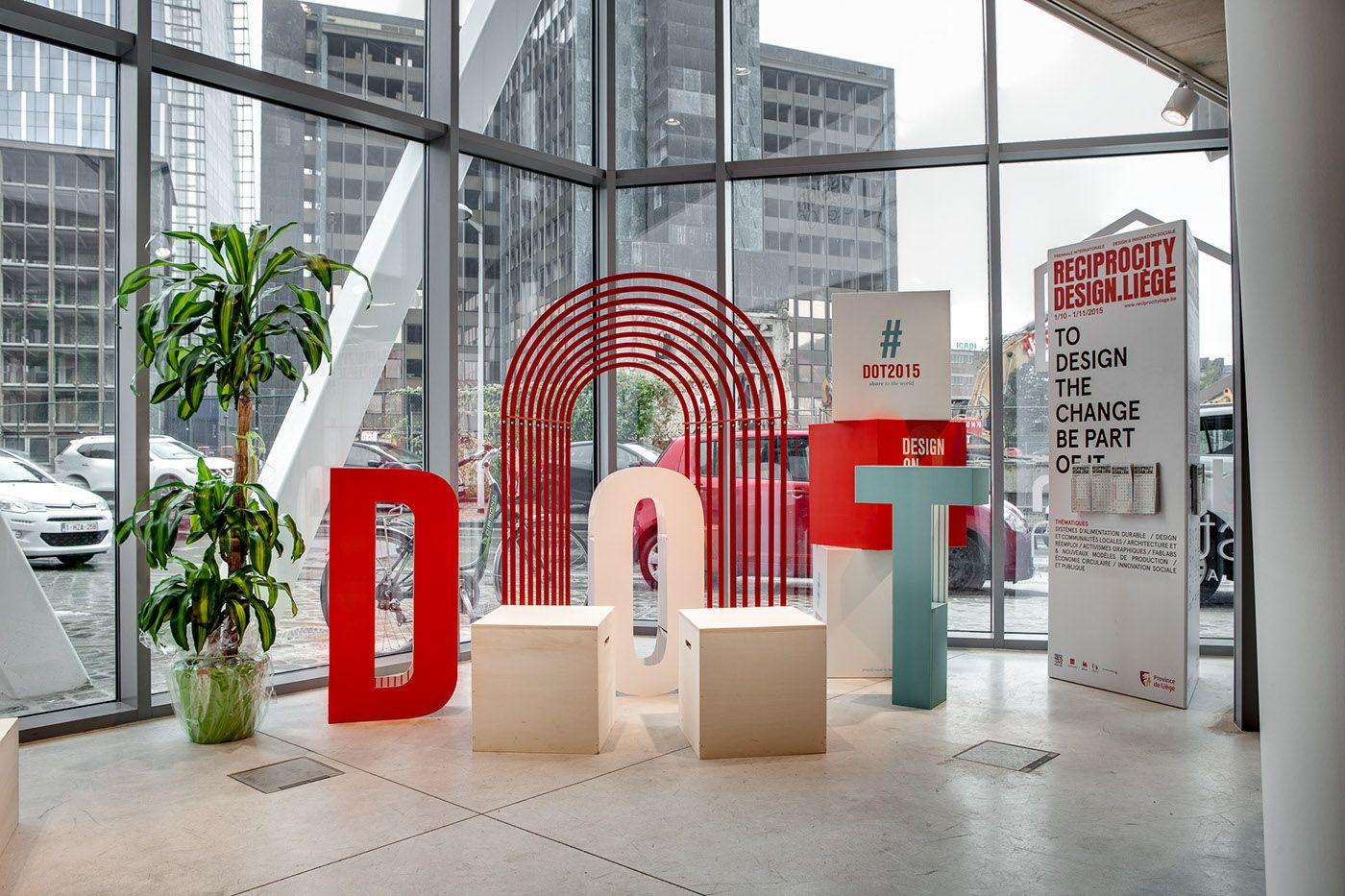 Design On Track On Behance Design Conference Design Exhibition Design