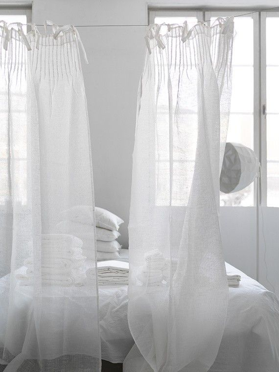 17 Best images about curtains on Pinterest | Best windows, White ...