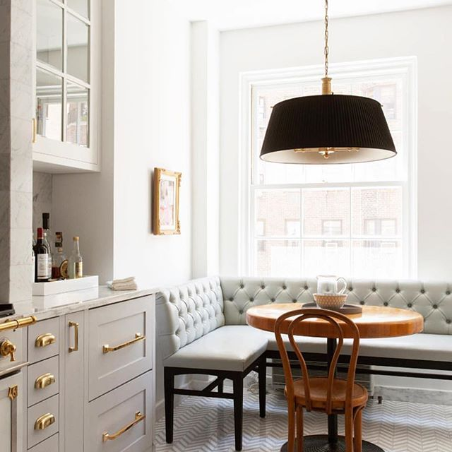Kitchen Interior design inspiration breakfast nook with banquette