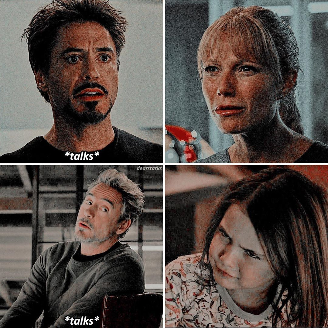 "������ // marvel edits's Instagram post: ""like mother like daughter • IMPORTANT NEWS️️ The MCU wiki says that in February 12th Pepper Potts informs Tony Stark that today is her…"""