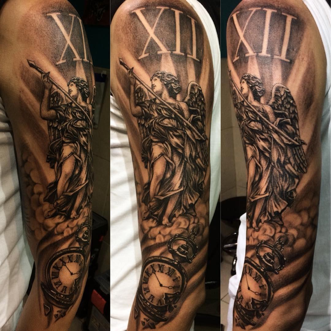 48++ Best Guardian angel shoulder tattoo image ideas