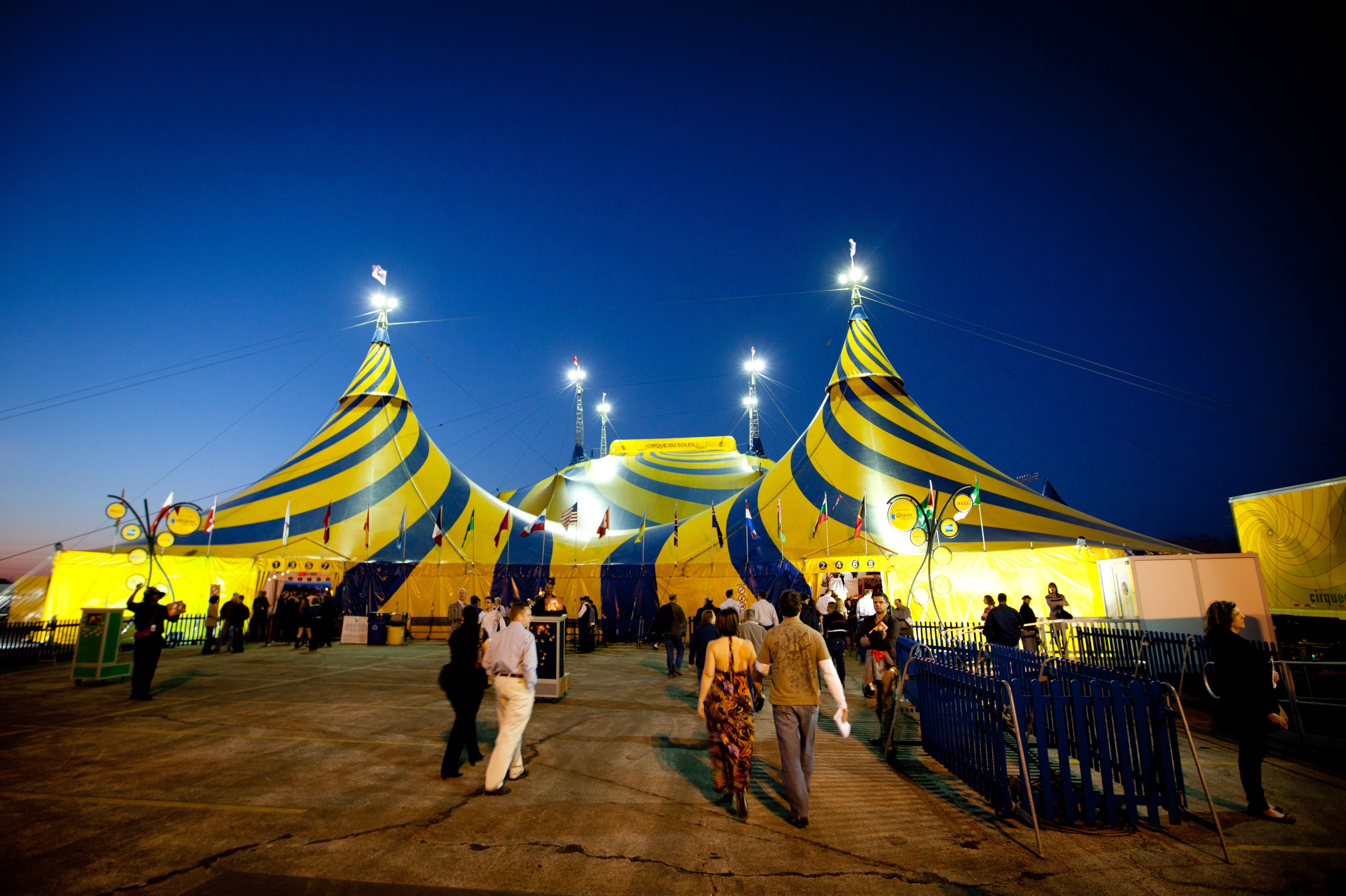 A few nice cirque de soleil images I found Circus Tent at OVO! by Cirque de Soleil Image by eschipul OVO production by Cirque de Soleil which runs March 10 ... & Cirque Du Soleil is one of the first (and continuing) large ...