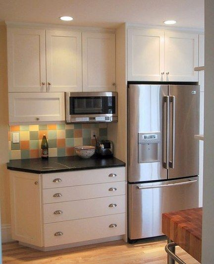 61 ideas for kitchen storage microwave built ins kitchen in 2020 new kitchen cabinets on kitchen organization microwave id=94821