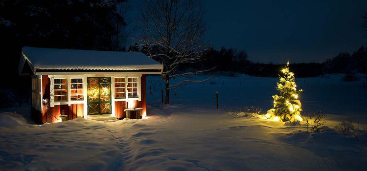 Ver Papa Noel en privado Cabaña
