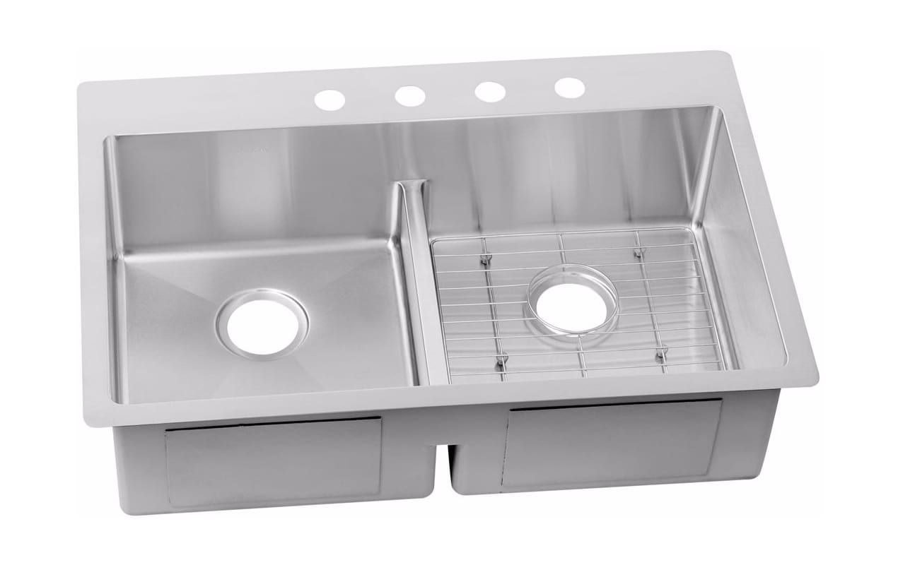 feature bin crosstown elkay cross breaks sink bowl undermount kitchen collection single view kit cgi ajmadison inch