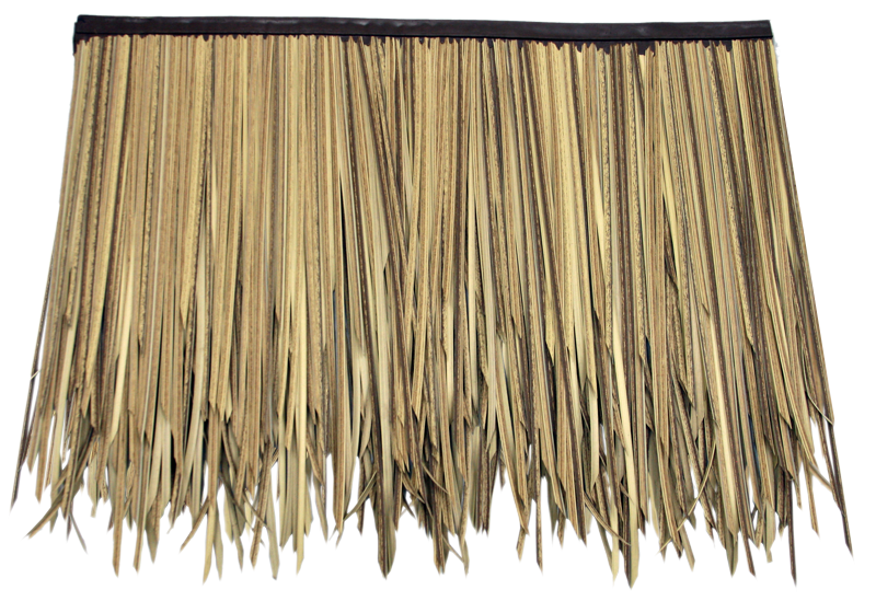 Baja Palm Thatch 3 Layer Sub Panel 31 L X 24 H Fire Rated