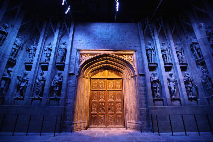 Hogwarts Great Hall Entrance Harry Potter Studios Harry Potter Tour Harry Potter Studio Tour