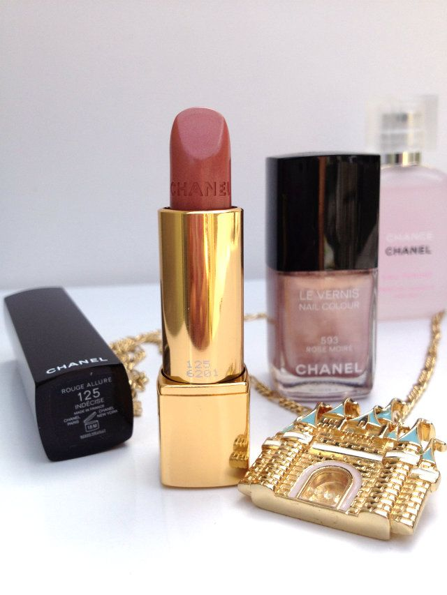 Chanel Collection Rouge Allure Moiré: rouge allure indecise & le vernis Rose Moire