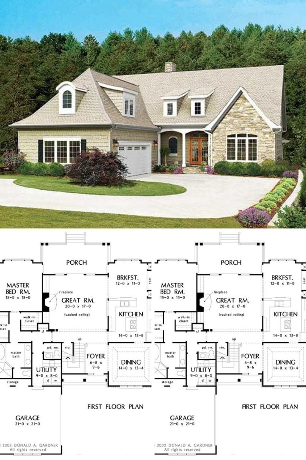Narrow Lot House Plans 2 Story 3 Bedroom The Newcastle English Cottage Home Floor Plan