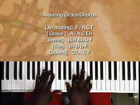 Amazing Grace Variations Part 1 Easy Play Softened Chords 7th