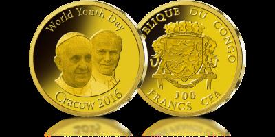 Swiatowe Dni Mlodziezy W Krakowie Gold Coins Coins Gold