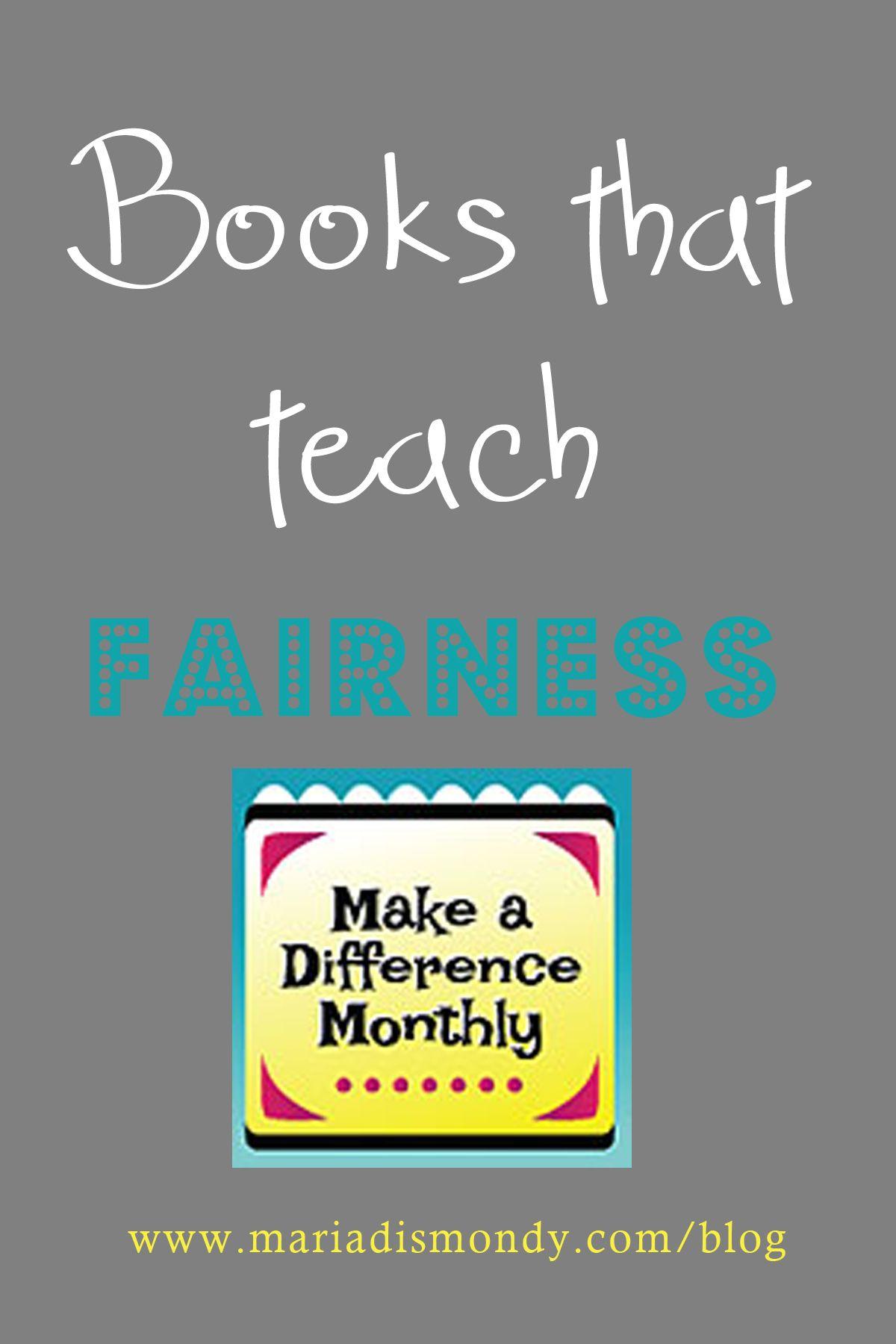 Books That Teach Fairness