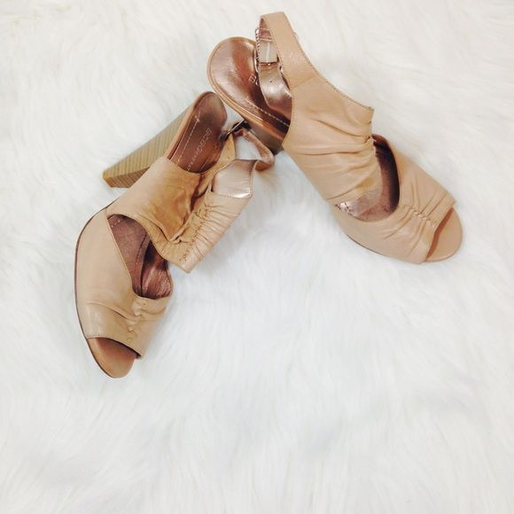 BCBG tan heels In great condition, super cute stylish heels! BCBGeneration Shoes Heels