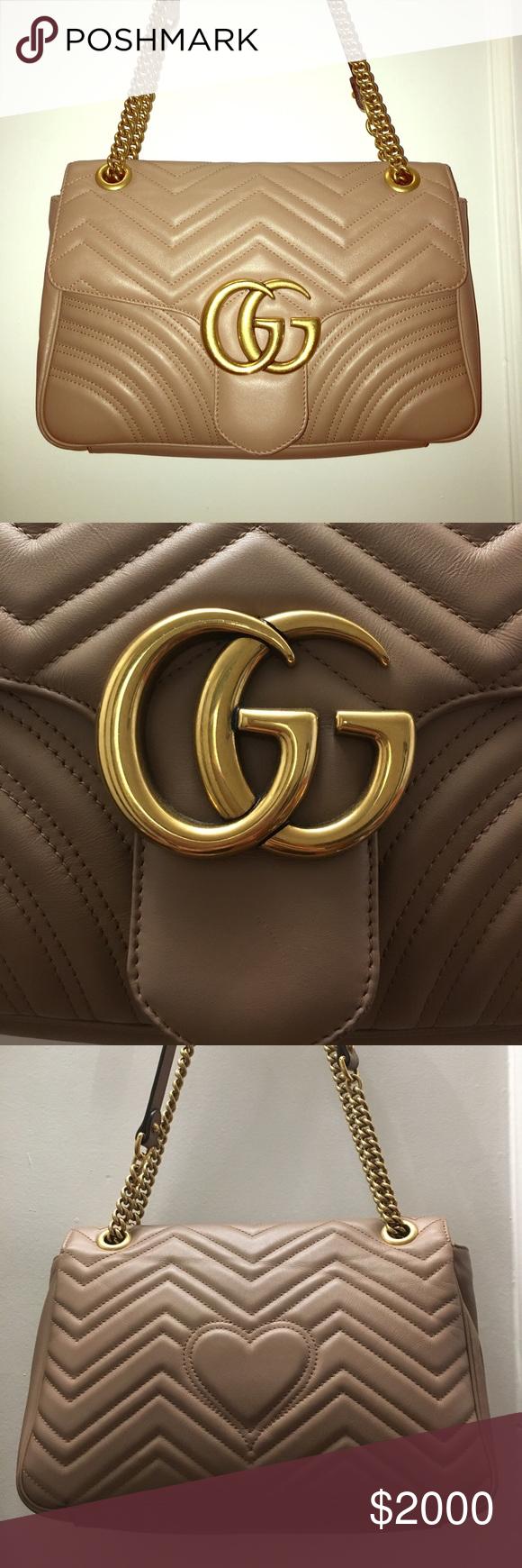 Gucci GG Marmont Matelassé Shoulder Bag 447632