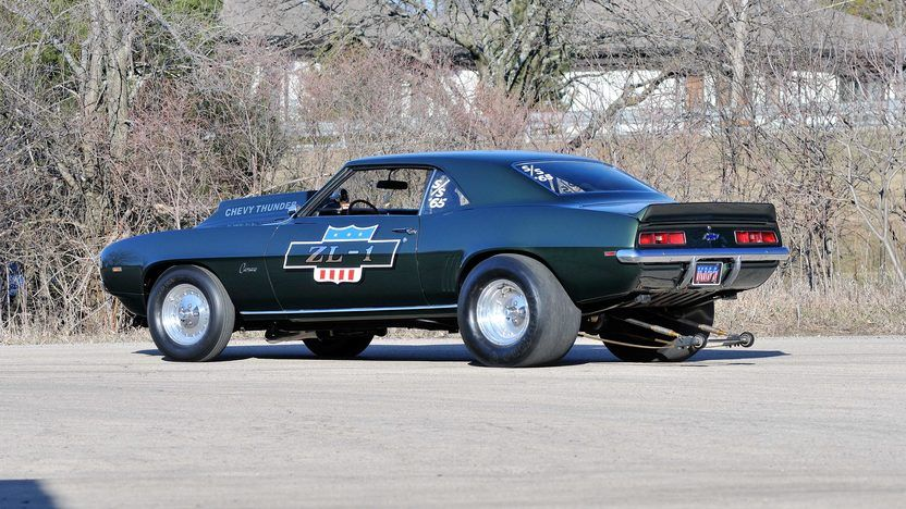 1969 Chevrolet Camaro ZL1 3 Chevrolet camaro zl1