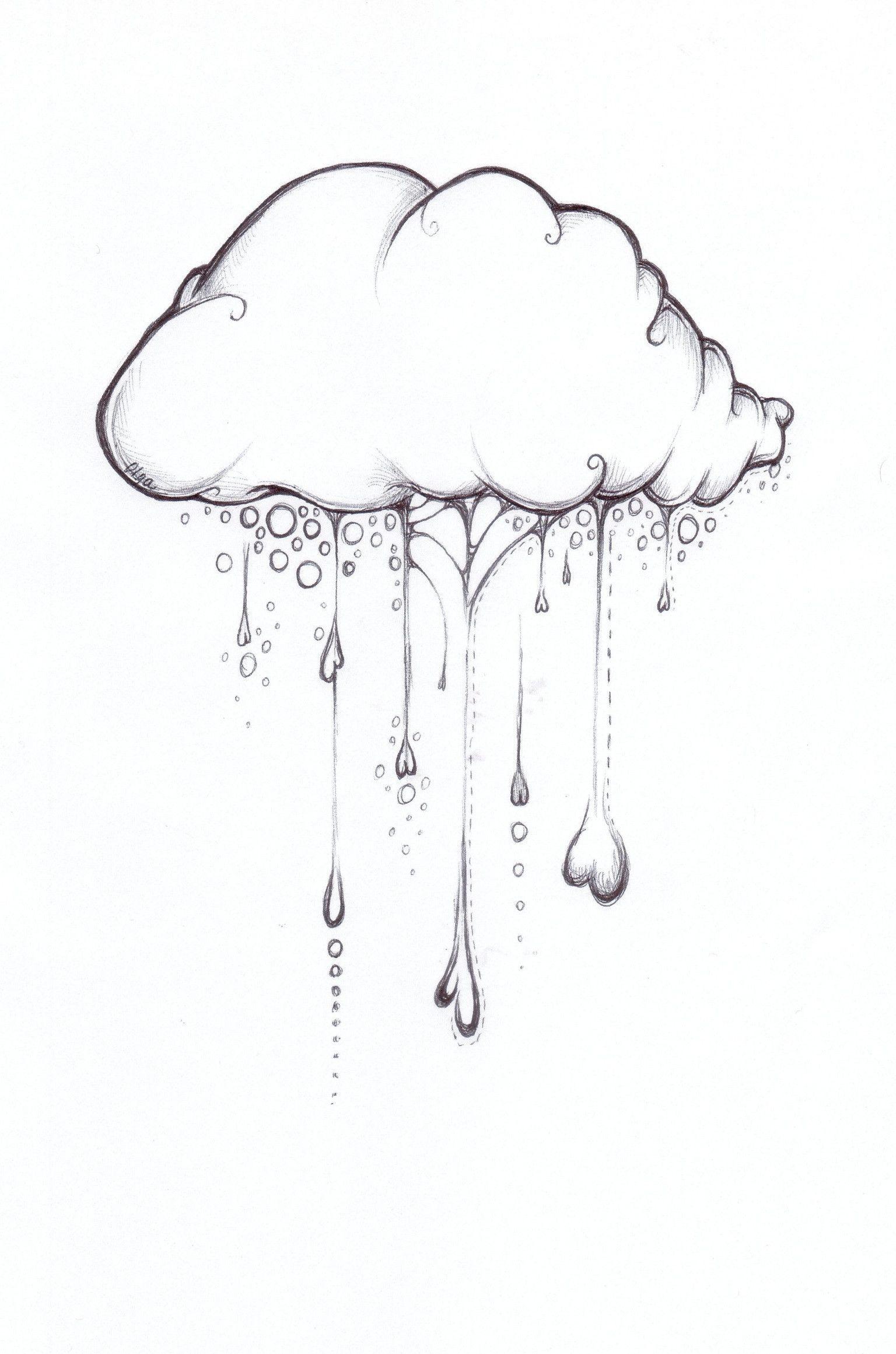 Cloud Pencil Drawing : cloud, pencil, drawing, Cloud, Doodle, Imgur, Pencil, Drawings,, Drawings