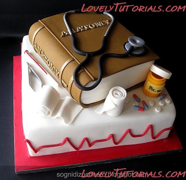 doctor themed cake Google Search Cake town Pinterest