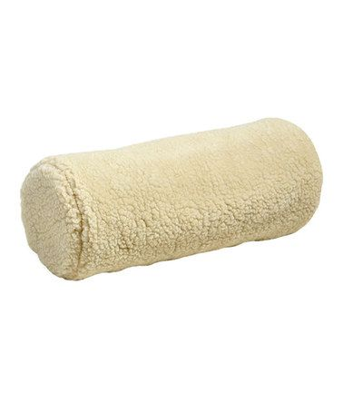 Another great find on #zulily! Faux Shearling Neck Support Bolster #zulilyfinds