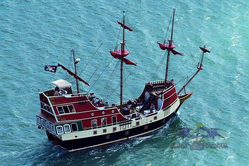 The Black Dragon pirate ship | Osprey Cruises, South Padre ...