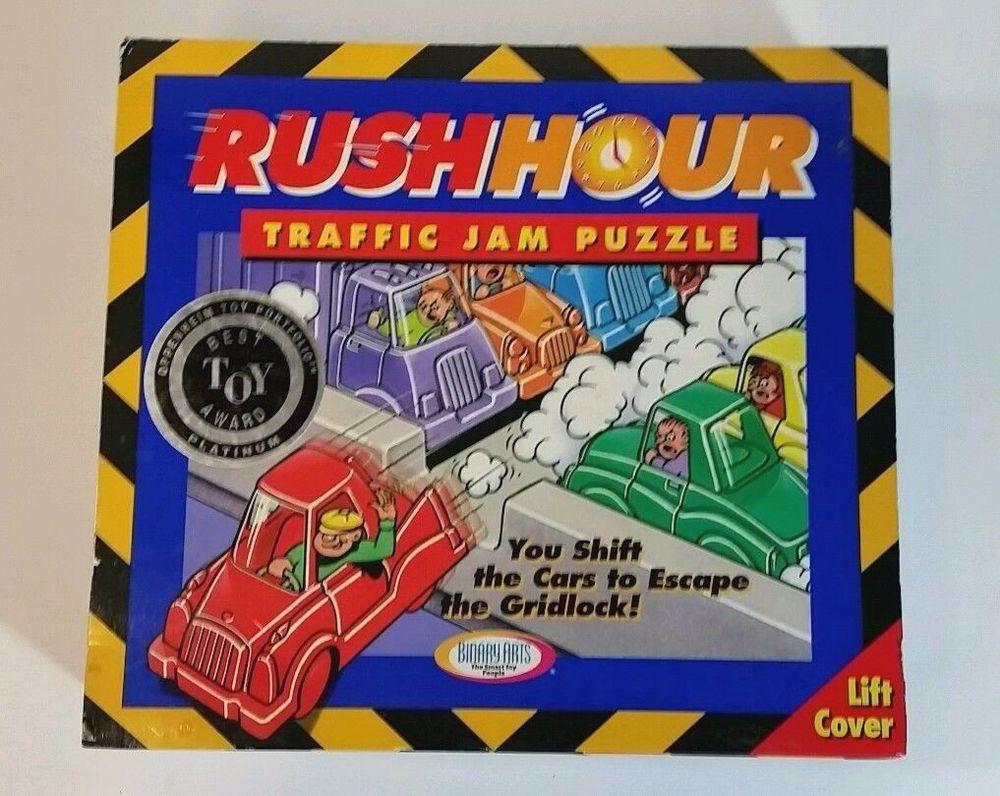 rush hour traffic jam puzzle game binaryarts ourattic13