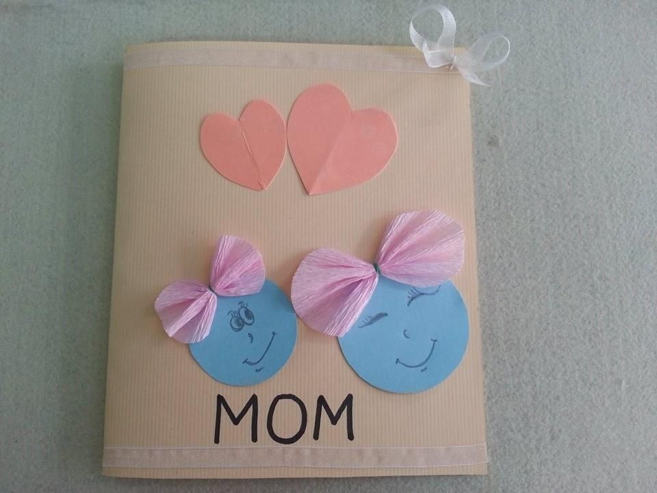 Diy Mother 39 S Day Card Cute Kid Craft For Mother 39 S Day