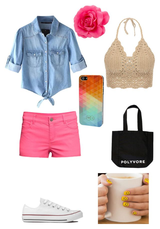 """""""summer serendipity"""" by karma14 ❤ liked on Polyvore"""