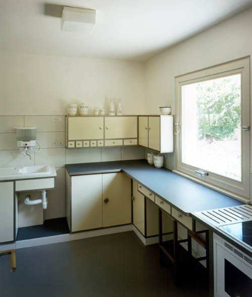 bauhaus haus am horn kitchen 1923 mid century design