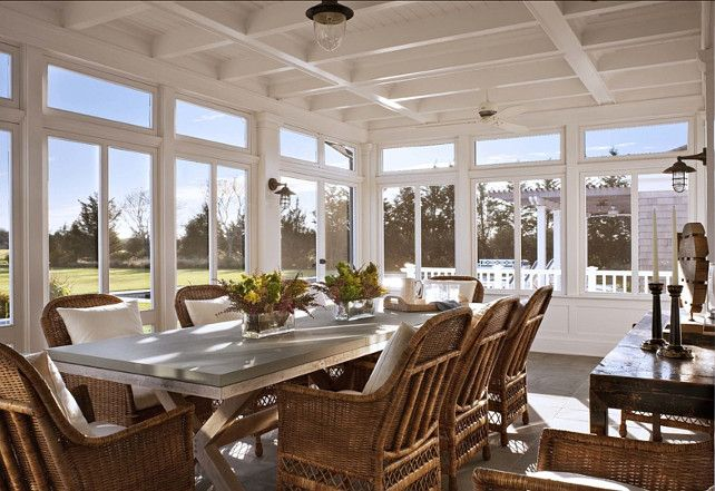 A Classic Hamptons House On Further Lane Farm Hamptons House Home Screened Porch Designs