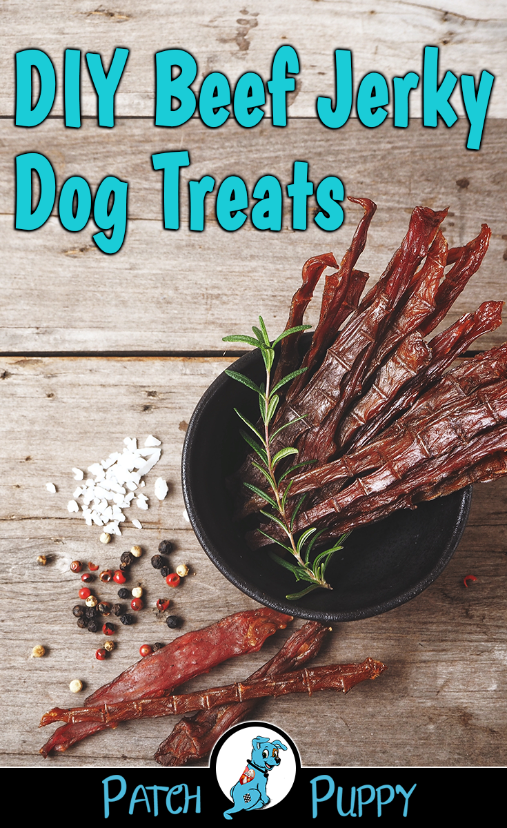 Does Your Dog Like Beef Treat Your Dog With These Diy Beef Jerky Dog Treats You Can Find The Reci With Images 3 Ingredient Dog Treats Diy Beef Jerky Homemade Dog Cookies