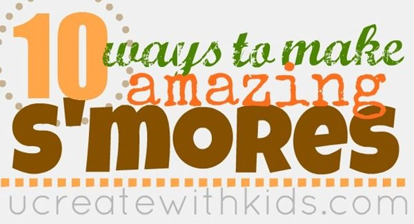 Fun idea to make S'mores with the kids! National S'mores Day