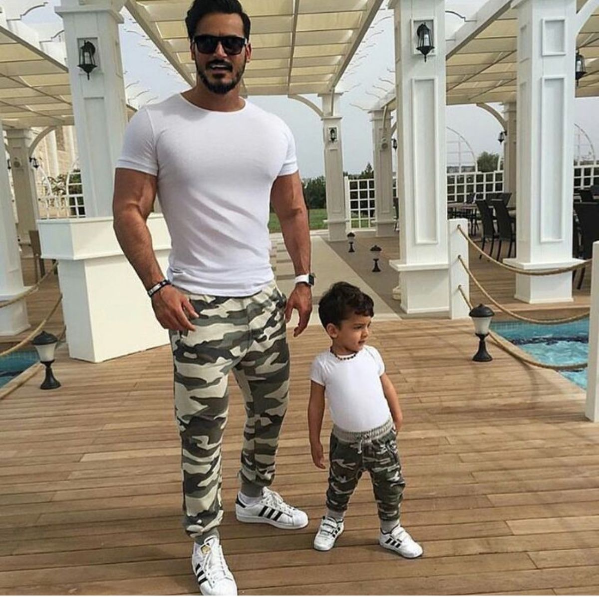 Pin by mikin ltd on family matchingtwinning clothing daddy son