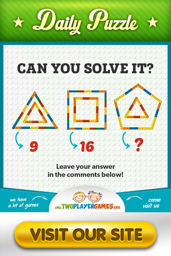 Can you solve this? #twoplayergames #dailypuzzle #puzzlegame