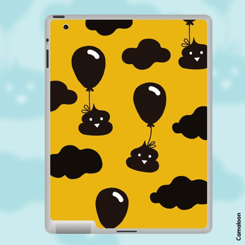 Poops can be lovely too! Happy poops for your happy ipad :)