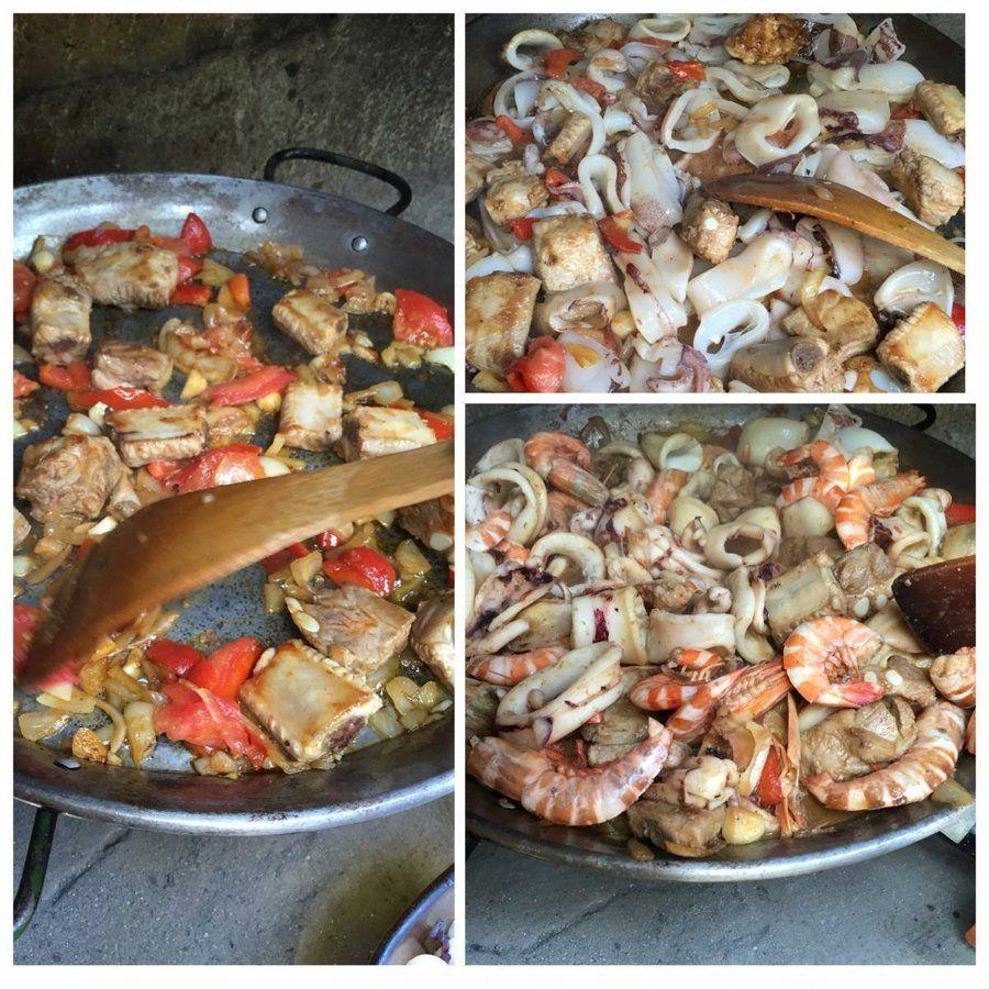 Paella de mariscos, una deliciosa y simple receta para lucirte en casa !